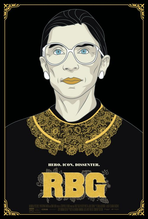"Theatrical one-sheet for ""RBG,"" a Magnolia Pictures release. (Courtesy Magnolia Pictures)"