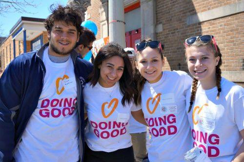 From left: Liad Zafrani, Halle Johnson, Maya Goldman and Haley LaKind (Courtesy Halle Johnson)