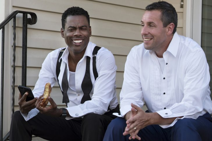 """Chris Rock and Adam Sandler in """"The Week Of"""" (Courtesy Netflix)"""
