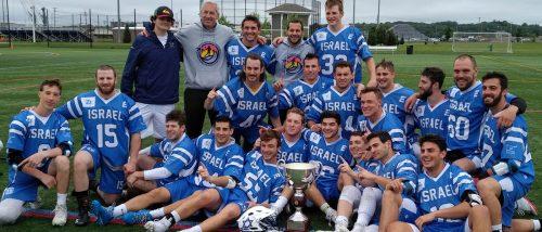 Team Israel at the 2018 Heritage Cup in Rhode Island (Photo: Israel Lacrosse)