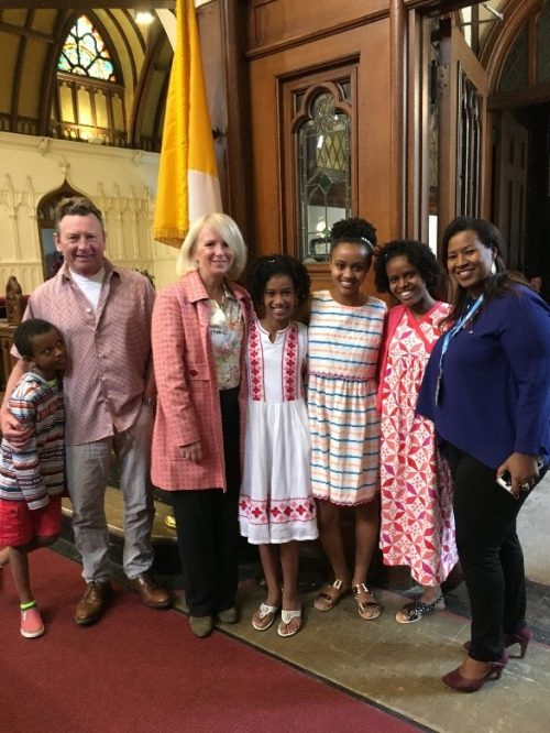 Osaf church visit