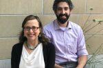 Rabbi Audrey Marcus Berkman and Assistant Rabbi Daniel Schaefer (Courtesy Temple Ohabei Shalom)