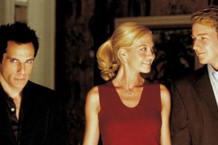 "Ben Stiller, Jenna Elfman and Edward Norton in ""Keeping the Faith"" (Promotional still)"