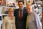 From left: Susan Goldsmith, chair of the board of JGS Lifecare, Adam Berman, president of CJL, and Barry Berman, CEO of CJL (Courtesy photo)