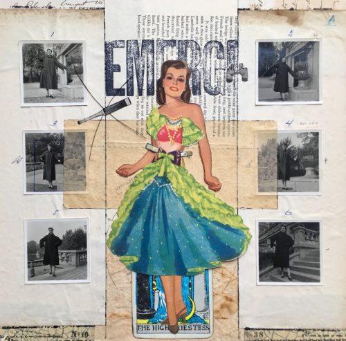"Emerge in Emergency - 12"" x 12"" (Art by Deb Goldstein)"