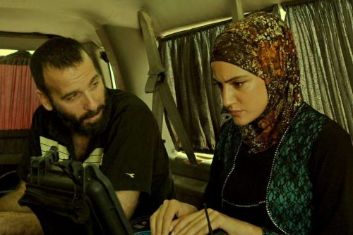 Boaz Konforty and Rona-Lee Shim'on in Fauda (Promotional Still: Netflix)