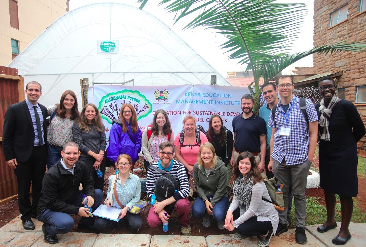 Project Inspire group at KEMI (Courtesy photo)