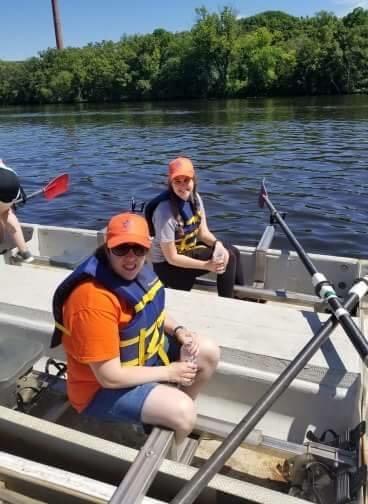 Avigail Rowing4