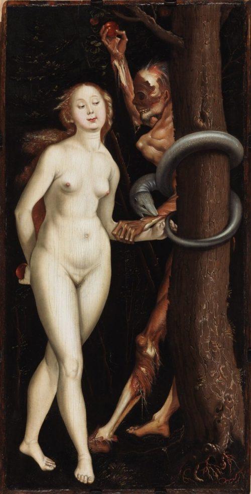 Hans_Baldung_Grien_-_Eve,_Serpent_and_Death
