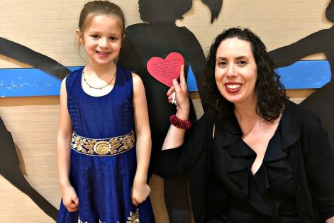 Gali's preschool graduation (Courtesy Sarah Feinberg)