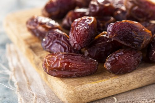 Delicious dried dates
