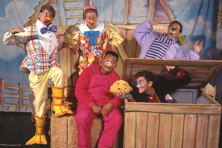 """Theatreworks production of """"Charlotte's Web"""" (Courtesy photo: Jean-Marie Guyaux)"""