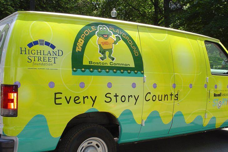 (Courtesy photo: ReadBoston Storymobile)
