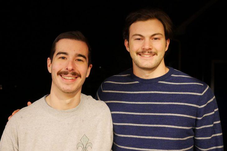 Sam Hearne, left, and Jake Fishman (Courtesy photo)