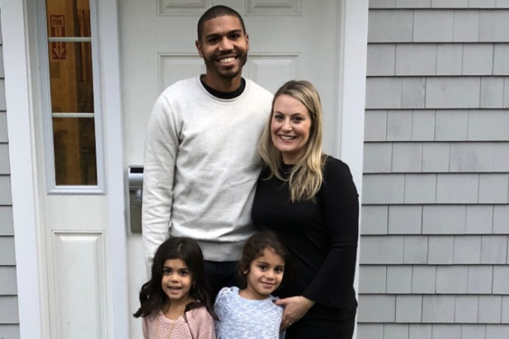 Renee and Alex Tatis with their daughters (Courtesy photo)