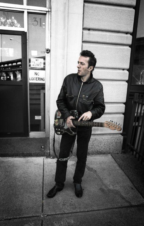 Joe Strummer_Photo by Julie Kramer