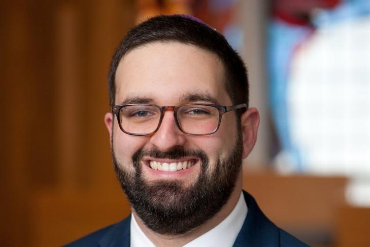 Rabbi Louis Polisson (Photo: Ellen Dubin Photography)