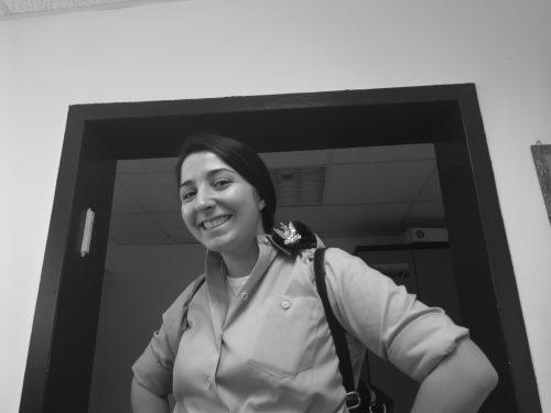 Shira Becker in uniform (Courtesy photo)