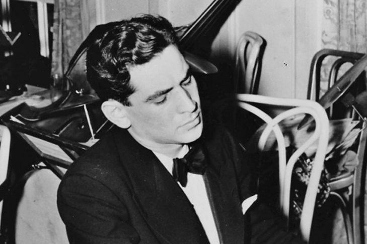 Leonard Bernstein (Photo courtesy of The Leonard Bernstein Office, Inc.)