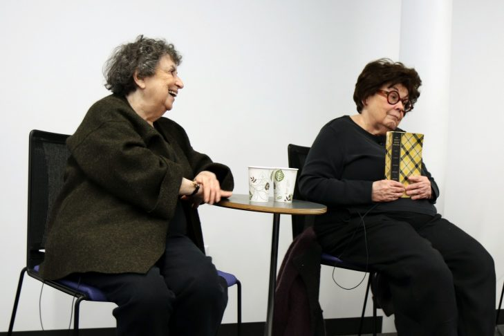 Sheila Brass, left, and Marilynn Brass (Photo: JewishBoston)