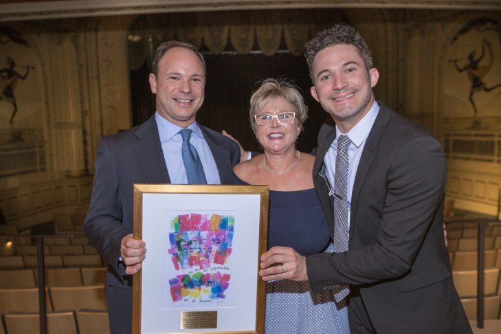 From left: Eric Levy, Sheryl Lappin-Levy and Justin Willman (Photo: Stuart Garfield)