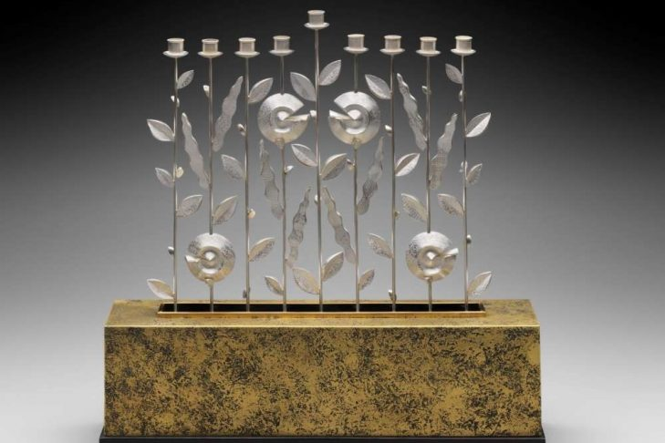 Threadgill Menorah (Courtesy Museum of Fine Arts Boston)