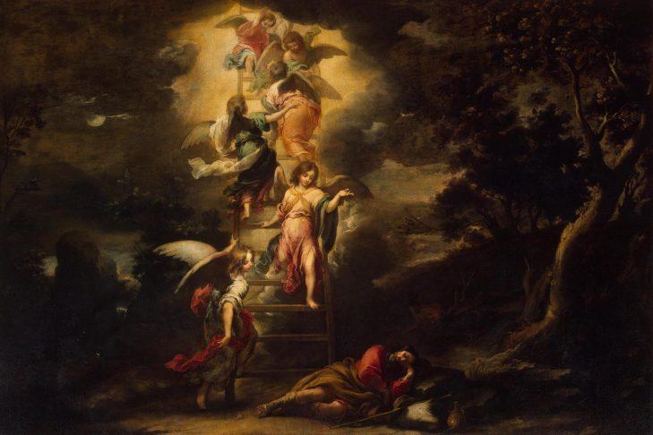 """Jacob's Dream"" by Bartolome Esteban Murillo"