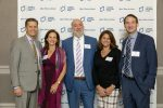 Event co-chairs Steve and Risa Aronson, Ambassador Ron Prosor and event co-chairs Rebecca and Russ Stein (Courtesy photo)