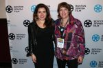 Jaymie Saks, right, with Ariana Cohen-Halberstam (Courtesy Boston Jewish Film)