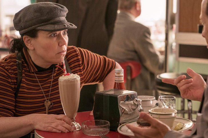 "Alex Borstein as Susie Myerson in ""The Marvelous Mrs. Maisel"" (Promotional still)"