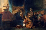 """Hannah Presents Samuel to Eli"" by Gerbrand van den Eeckhout"