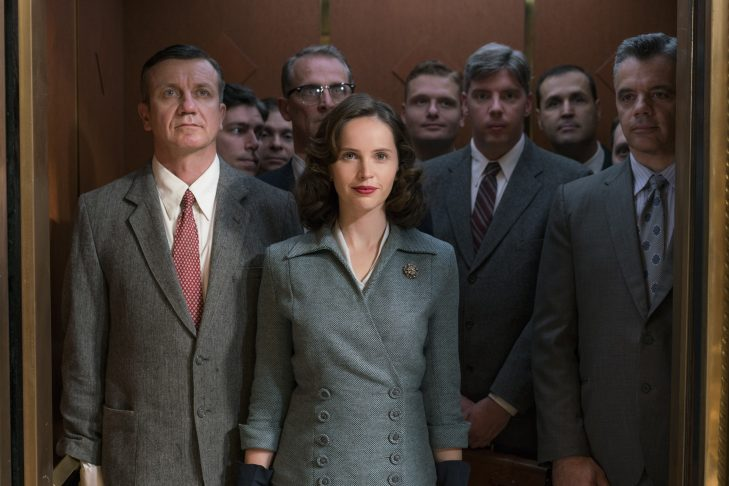 """Felicity Jones as Ruth Bader Ginsburg in """"On the Basis of Sex"""" (Courtesy image)"""