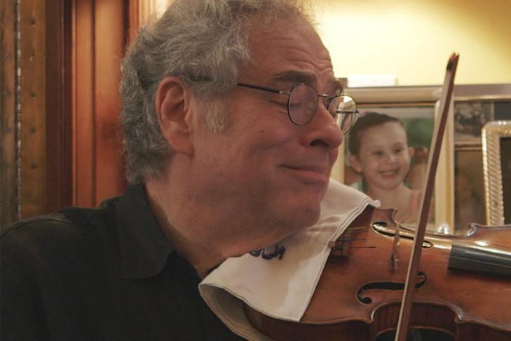 """Itzhak Perlman in """"Itzhak"""" (Promotional still)"""
