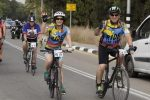 Bernice Behar and her husband cycle in the Israel Ride (Courtesy photo)