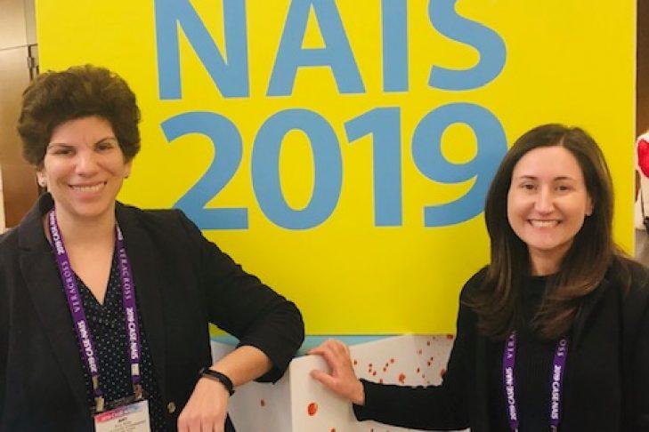 Amy Klotz, left, and Kim Stone of The Rashi School (Courtesy photo)