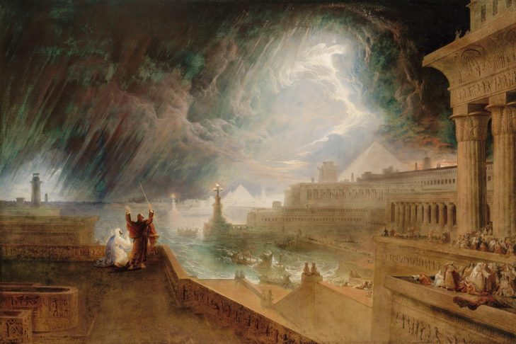 """The Seventh Plague"" (1823 painting by John Martin)"