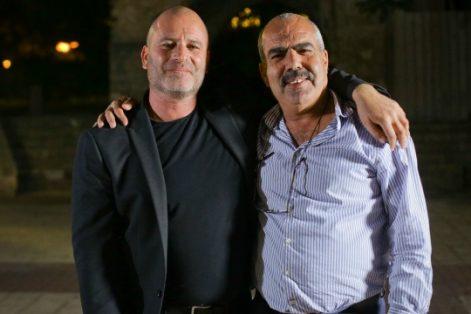 Sami Saadi, right, and Paz Hirschmann, co-CEOs of Tsofen (Courtesy photo: Abraham Fund Initiatives)