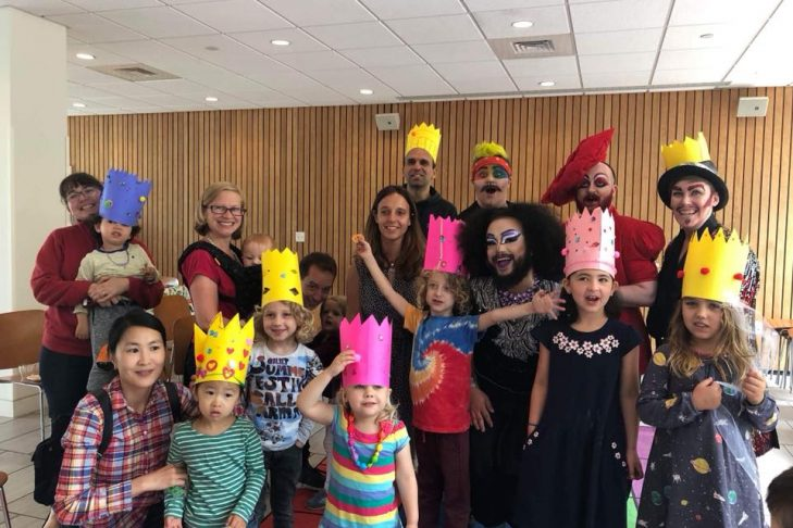 Storytime with Drag Kings, Queens and Friends (Courtesy photo)
