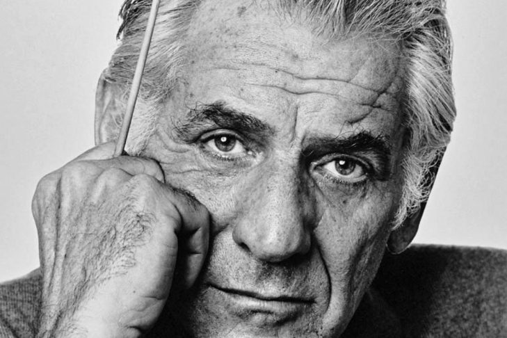 Leonard Bernstein (Courtesy photo: Jack Mitchell/Wikimedia Commons)