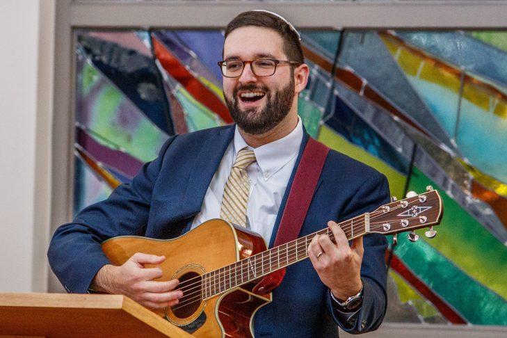 Rabbi Polisson (Photo: Sandy Gotlib)