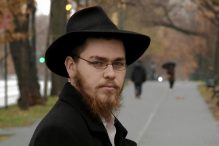 """Matisyahu Devlin in """"Only for God: Inside Hasidism"""" (Promotional still: National Geographic)"""