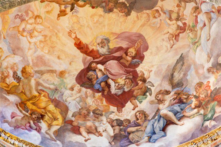 The Eternal in Glory by Luigi Garzi (Photo: sedmak/iStock)