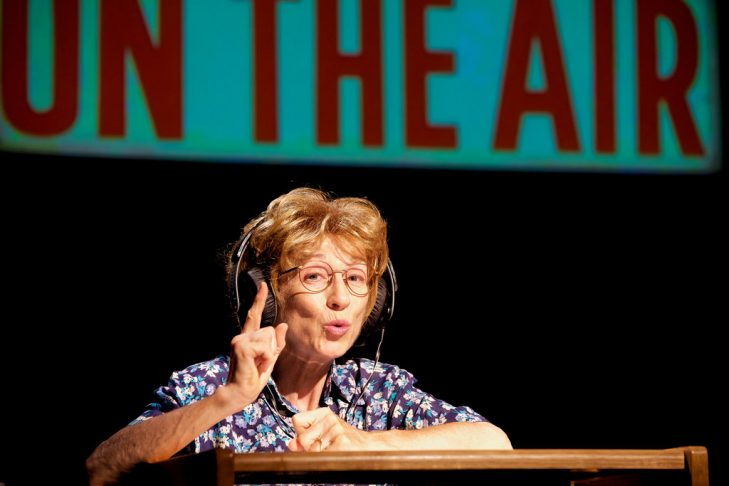 """Anne O'Sullivan as Ruth Westheimer in """"Becoming Dr. Ruth"""" (Photo: Rudy Meyers Photography)"""