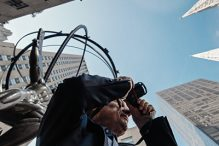 """Henri Dauman: Looking Up"" (Promotional image)"