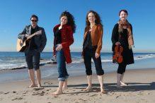 From left: Ugene Romashov, Lea Kalisch, Julia Ostrov and Samantha Gillogly (Photo: Harold Levine)