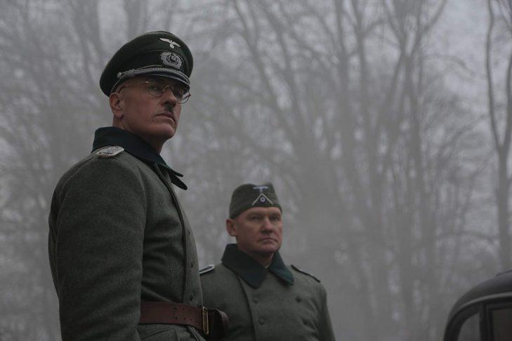 Neil Bennett as Major Karl Plagge in The Good Nazi (Promotional image)