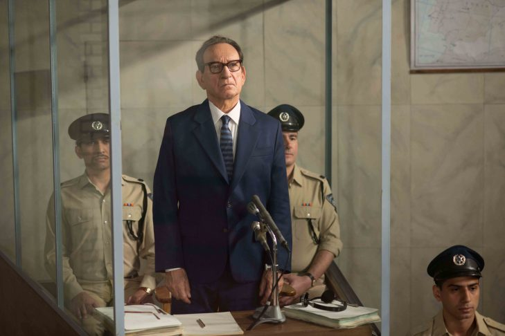 "Sir Ben Kingsley as Adolf Eichmann in ""Operation Finale"" (Photo: Valeria Florini/Metro Goldwyn Mayer Pictures)"