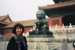 Robyn Helzner in the Forbidden City in Beijing (Courtesy photo)