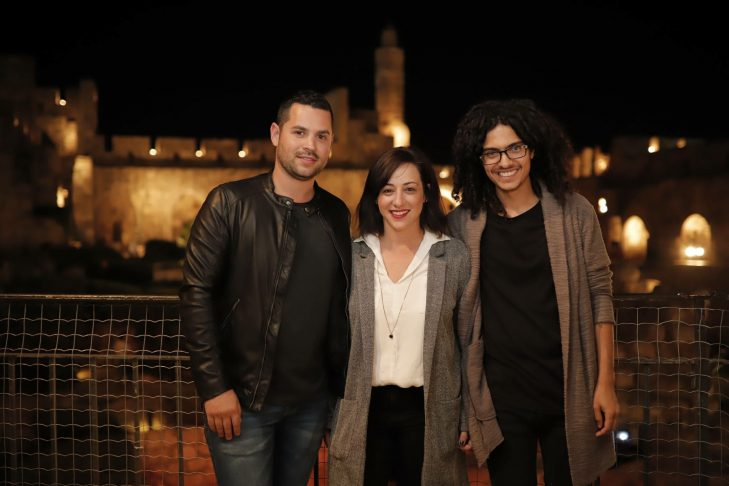 Koolulam founders, from left: Or Taicher, Michal Shahaf and Ben Yaffet (Courtesy Koolulam)