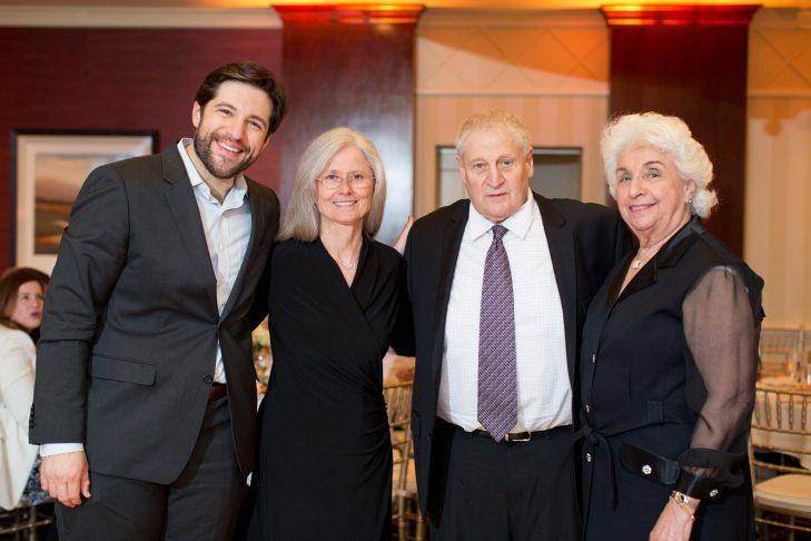 From left: Adam Berman, Betsy Mullen, Barry Berman and Gilda Richman (Courtesy photo)